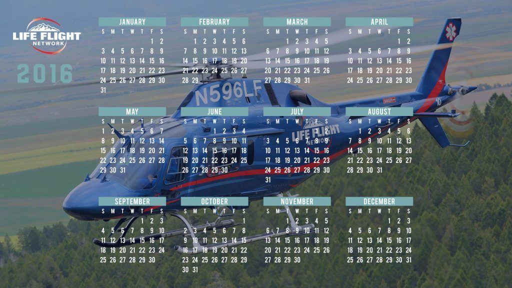 2016 Wallpaper Calendar